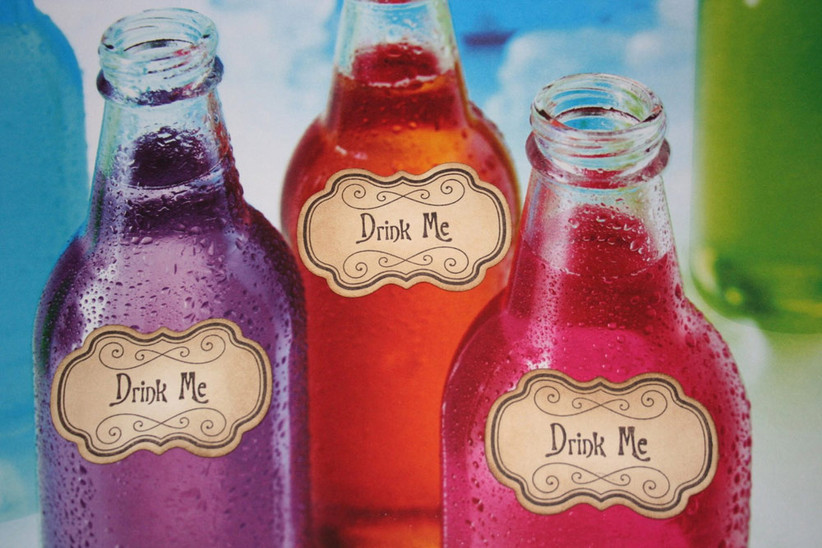 Mad Hatter's Tea party - Drink Me