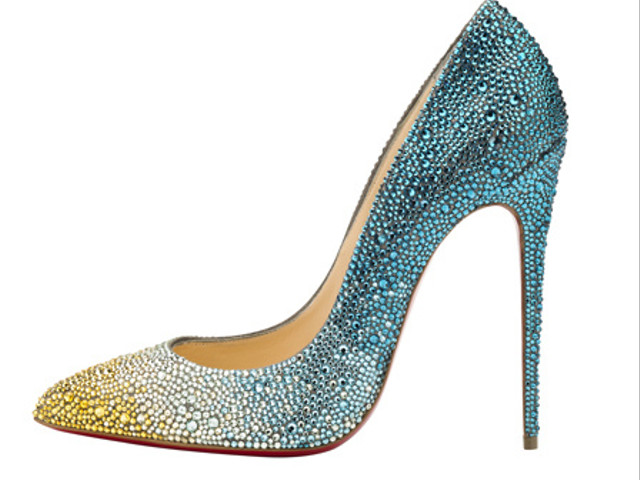 10 Glittery Wedding Shoes