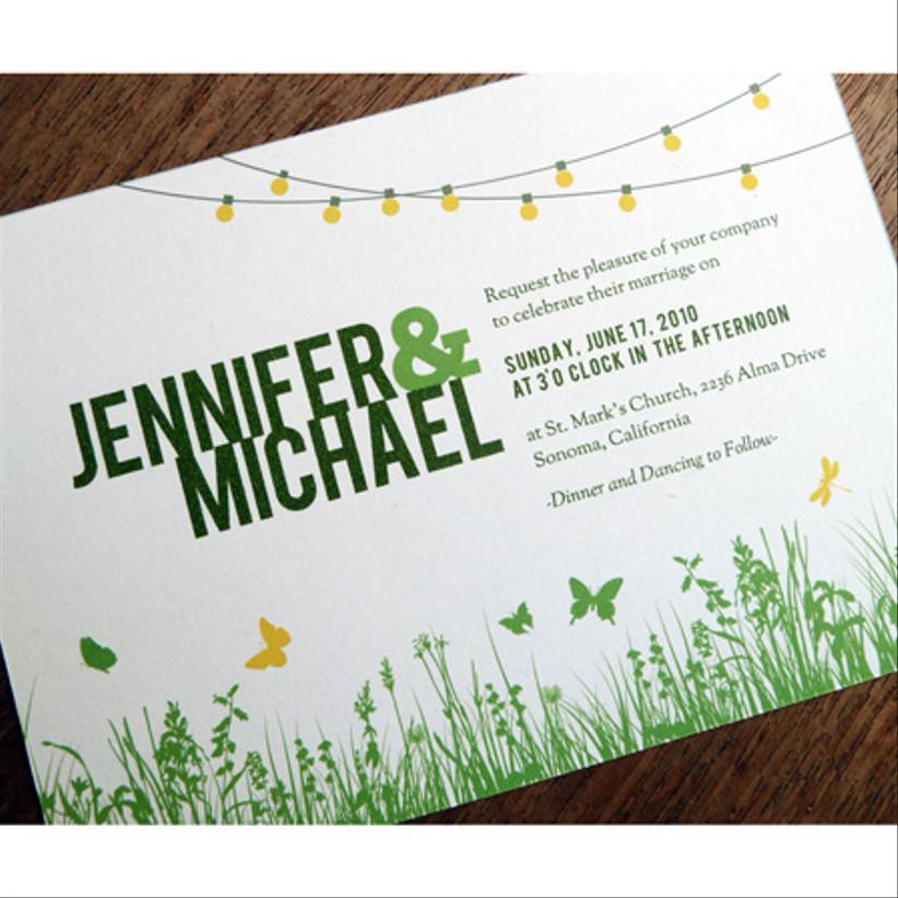 Garden Party Invitation — e.m. papers