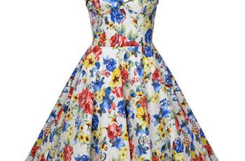 Fun Floral Bridesmaid Dresses
