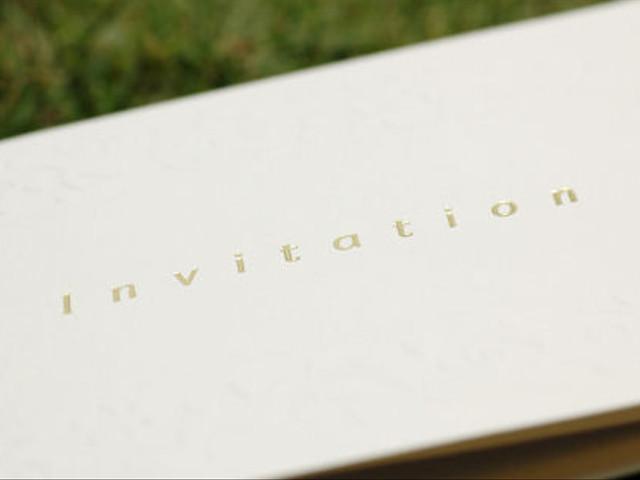 Preserving Your Wedding Invitation