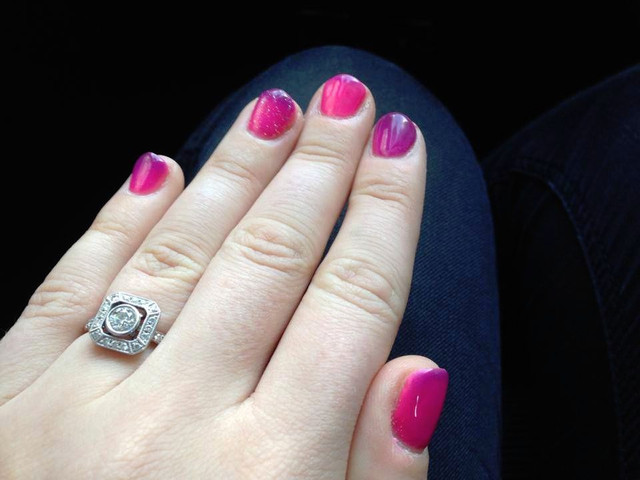 Taking the Perfect Engagement Ring Selfie