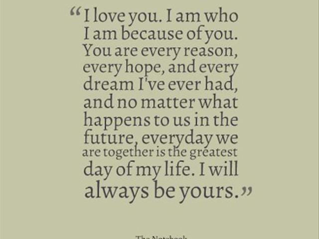 Our Favourite Romantic Film Quotes