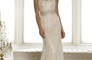 Glittering Wedding Gowns