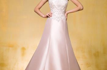 10 Pink Wedding Dresses