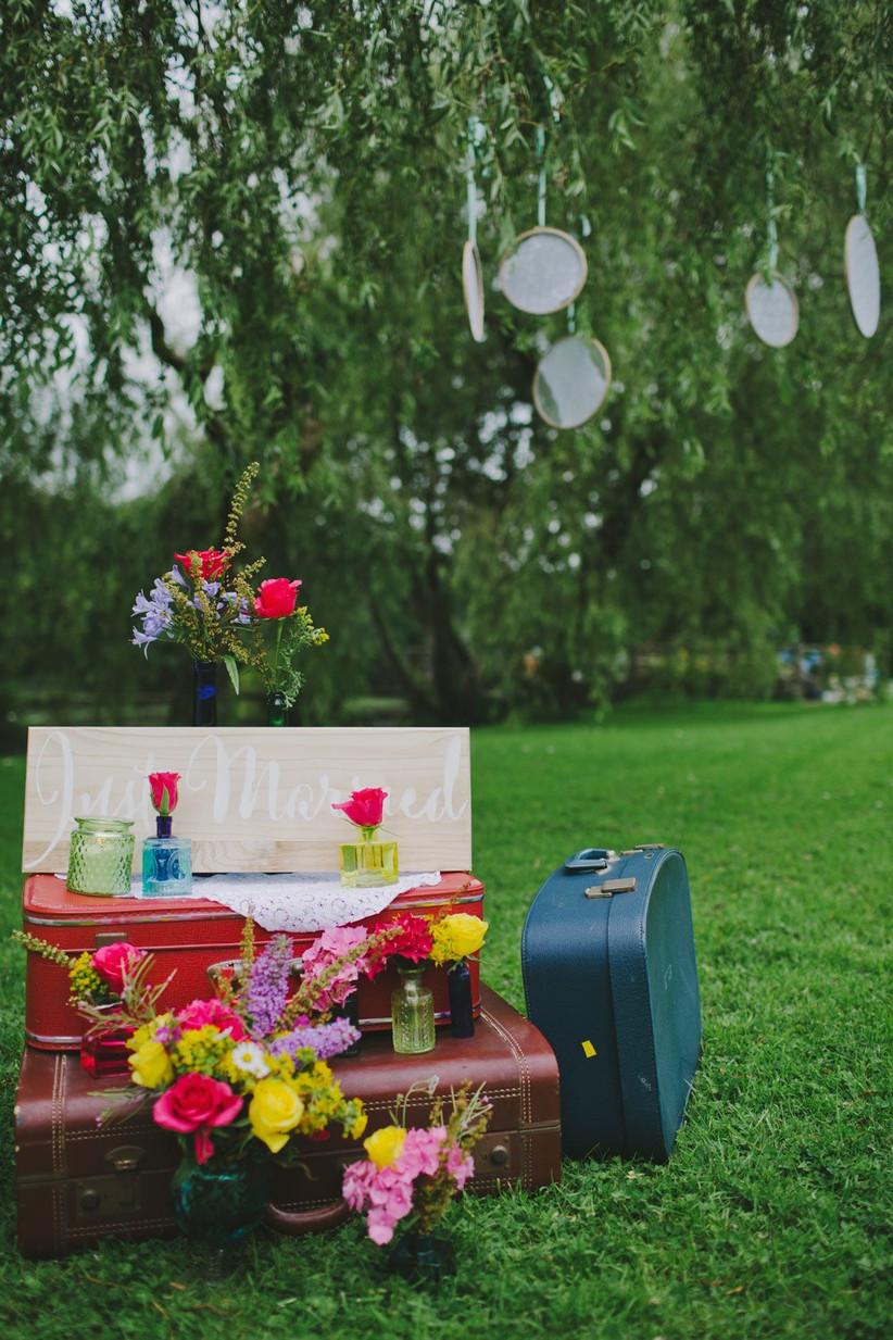 Retro Wedding Decor