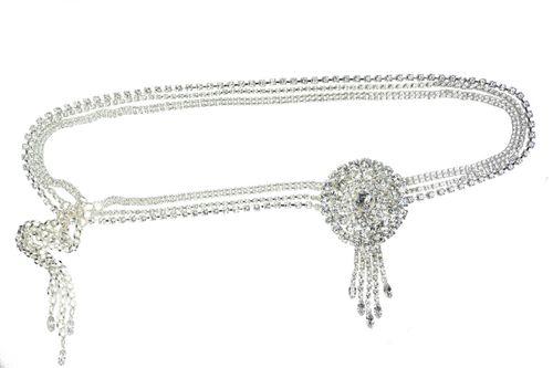 Ava Crystal Bridal Belt, Crystal Bridal Accessories