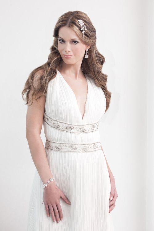 Juliet Comb, Crystal Bridal Accessories