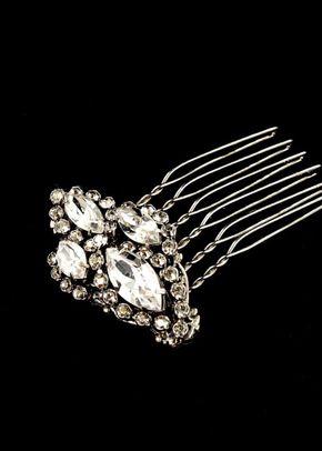 M. Art Deco hair ornament, Disgraceful Grace