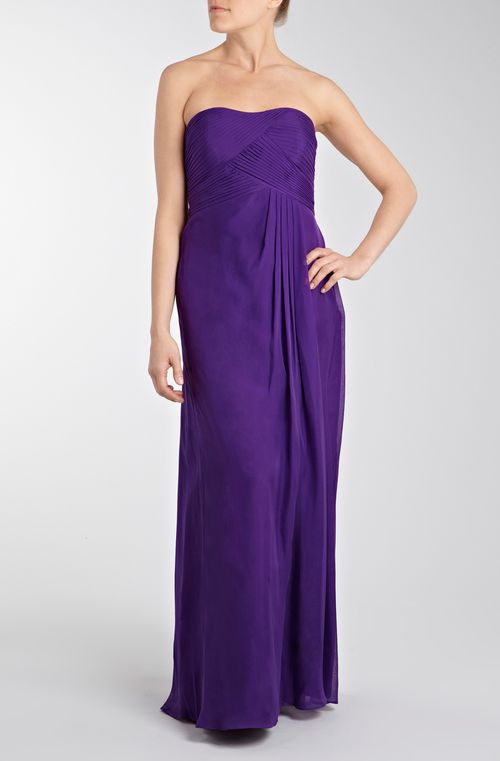 Acapella Bandeau Maxi Purple, Coast Bridesmaid