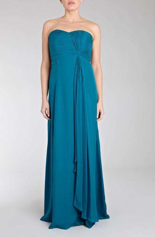 Symphony Maxi Dress Teal, Coast Bridesmaid