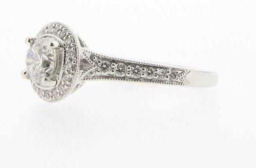 Engagement ring, Voltaire Diamonds