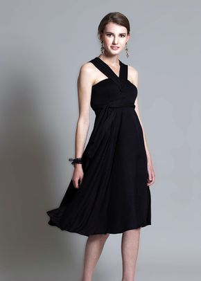 Bandeau Dress - V Neck, In One Clothing