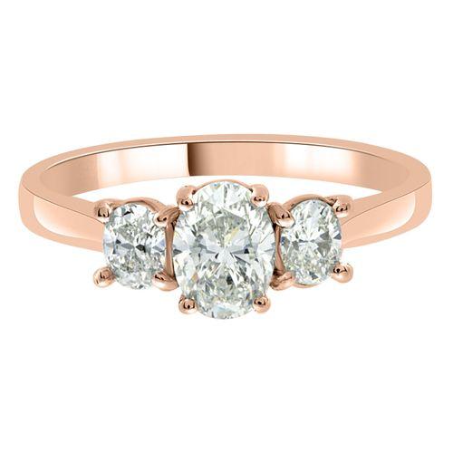 Lucy rose gold, Loyes Diamonds