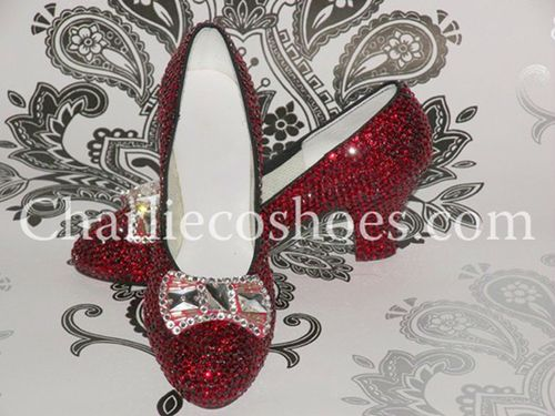 Crystal Ruby Slippers, Charlie Co Shoes