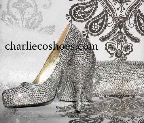 Diamond Slipper Set, Charlie Co Shoes