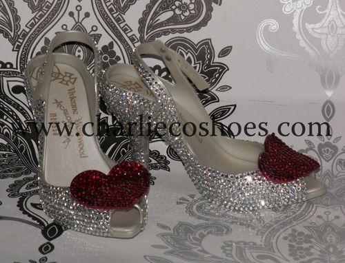 Vivienne Westwood Crystal Heels, Charlie Co Shoes