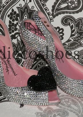 Vivienne Westwood Crystal Shoes, Charlie Co Shoes