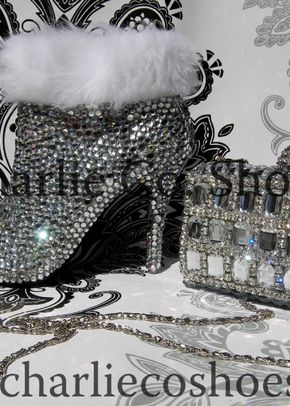 Winter Wonderland Boots and Clutch set, Charlie Co Shoes