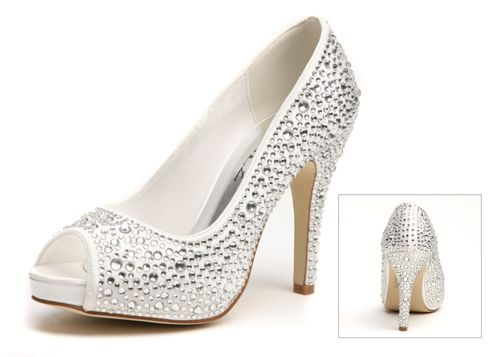 Swarovski Heels, Perditas Wedding Shoes