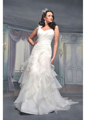 R524, White Rose Bridal