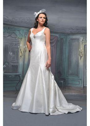 R537, White Rose Bridal