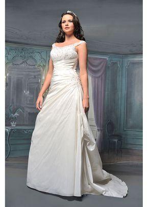 R527, White Rose Bridal