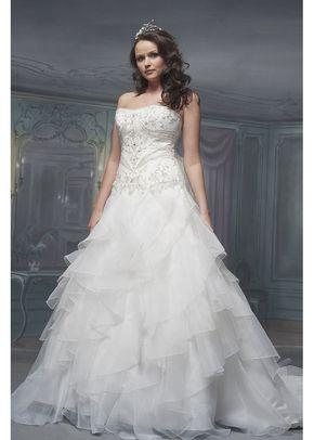 R429, White Rose Bridal
