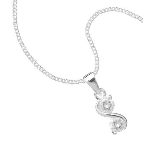 Simply Silver Sterling Necklace, Jon Richard Jewellery