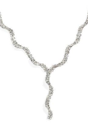 Wave Diamante Necklace, Jon Richard Jewellery