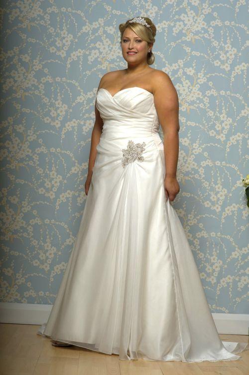 R619, White Rose Bridal