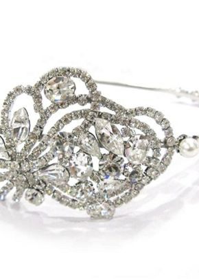 Bridal Bouquet Side Tiara, 3D Jewellery