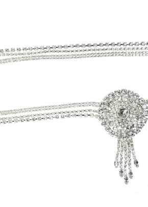 Ava Crystal Bridal Belt, Crystal Bridal Accessories