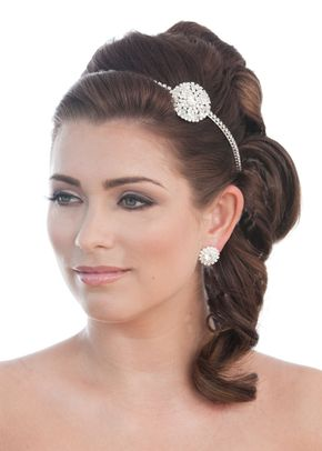 Ava Headband, Crystal Bridal Accessories