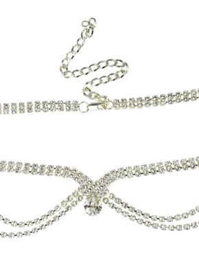 Grace Luxe Browband, Crystal Bridal Accessories