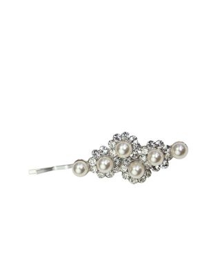 Pearl & Crystal Slide 2, Crystal Bridal Accessories