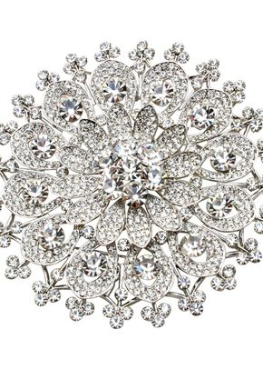 Sunflower Comb 2, Crystal Bridal Accessories
