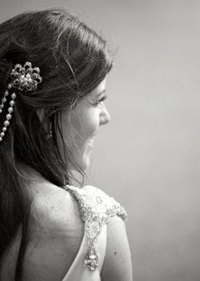 Danielle Hair Drape, Jules Bridal Jewellery