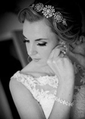 Evita Pearl Headband, Jules Bridal Jewellery