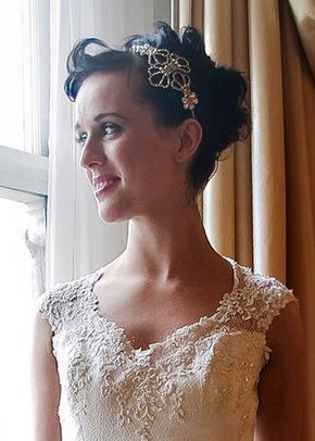 Grace Headband, Jules Bridal Jewellery