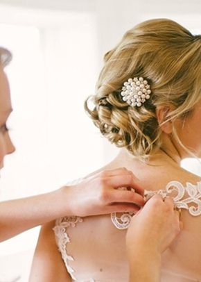 Nadine Hairclip, Jules Bridal Jewellery