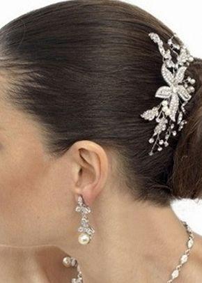 Nessa Pearl Comb, Jules Bridal Jewellery