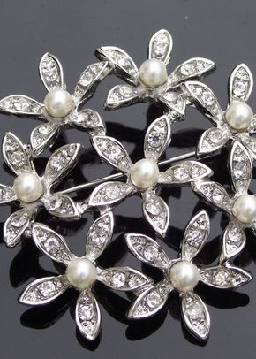 Orchid Brooch, Jules Bridal Jewellery