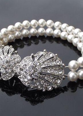 Oyster Ivory Pearl Bracelet, Jules Bridal Jewellery