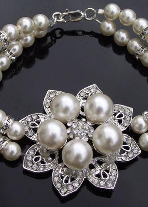 Pearl Alyson Bracelet, Jules Bridal Jewellery