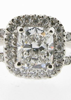 Cushion Cut, Perfect Ring