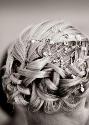 Beaded hair piece, Rangoli