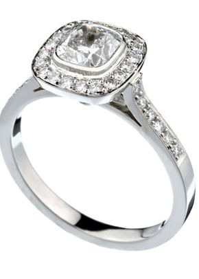 Engagement ring 2, Voltaire Diamonds