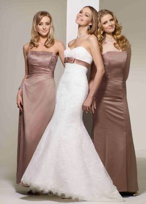 Latte Cara-Elle-Rebecca, Berketex Bridesmaid
