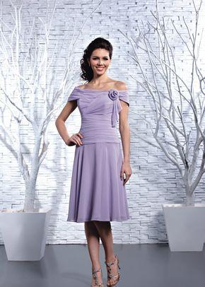 DAB11206 Lavender, DZage Bridemaids